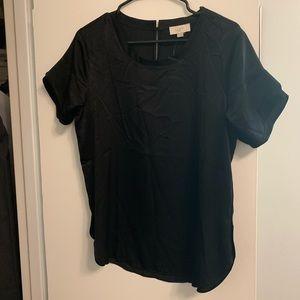 Ann Taylor loft flutter sleeve blouse